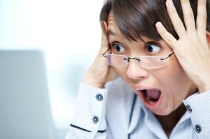 User reaction when open website