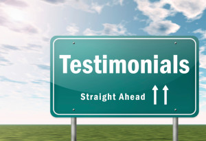 testimonials, from your clients, seo