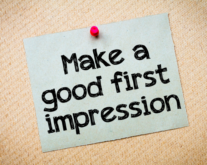 website  first good impression